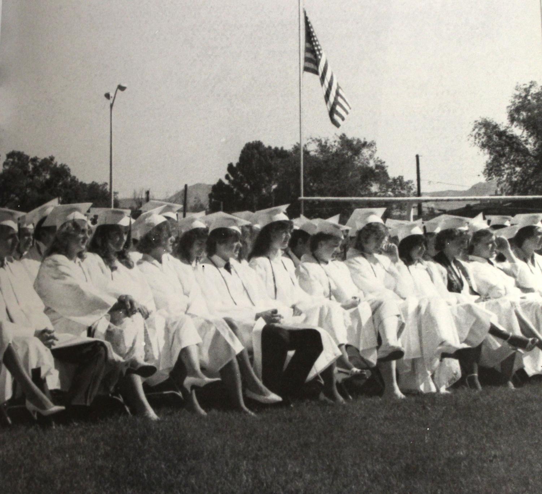 1985 GJHS graduation picture.