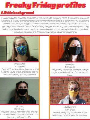 Freaky Friday student profiles
