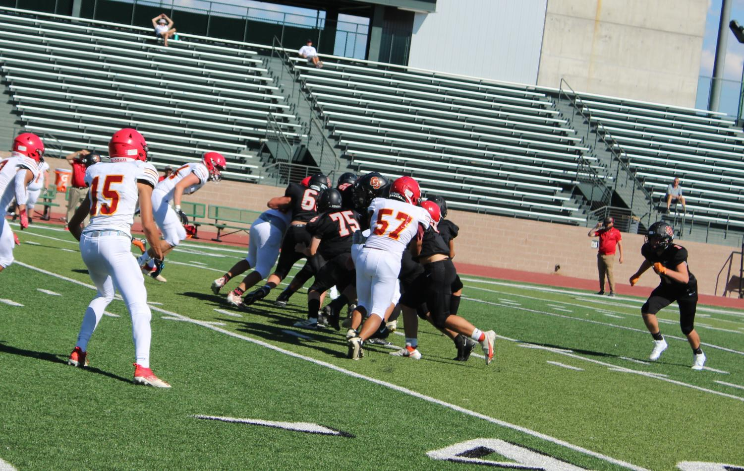 GJHS football team loses to Coronado in the first game of the season